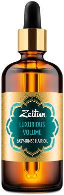 """Zeitun <b>Легкосмываемое масло для волос</b> """"Роскошный объем"""". С ..."""