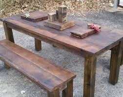 reclaimed wood furniture etsy. contemporary reclaimed wooden furnitureindoor outdoor rustic pub style table set made from reclaimed  wood with furniture etsy
