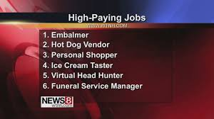 Unusual Jobs That Pay Well Youtube