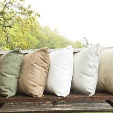 Accent your space with outdoor pillows