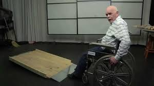 build long inexpensive residential wood wheelchair ramps in 2hr you