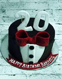 Birthday Cake For Boyfriend Tuxedo Gentleman Theme Cake Creme Castle