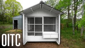 Chicken Coop Roof Design Building The Perfect Coop Open Air Chicken Coop
