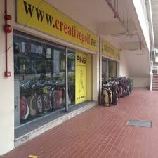 Photo of Creative Golf - Singapore, Singapore. Storefront of Creative Golf!  See those