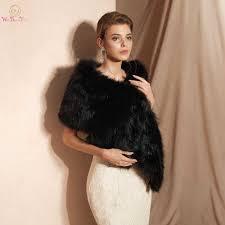Warm <b>Wedding</b> Bolero Faux Fur <b>Champagne</b> Scarf <b>Bridal</b> Wrap ...