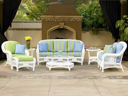 St Lucia White NCI Cape May Wicker Outdoor Wicker Furniture Sale Charlotte NC