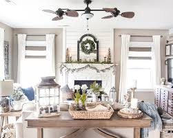 after winter mantel and living room blesserhouse com a tour of