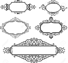 1300x1220 scrolls clipart ornate frames ilrations hd images