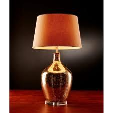 emac lawton large fortuna mercury glass bottle lamp base