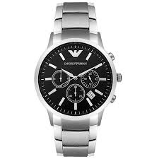 emporio armani mens chronograph watch ar2434