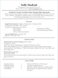Inspirational Extra Curricular Activities In Resume Sample
