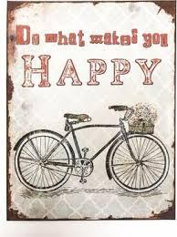 Gugus Happy 30 X 40 Cm Back Porch Fahrrad Fahrrad Spruch Und
