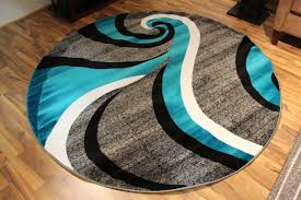 best 8 foot round rugs contemporary ideas braided