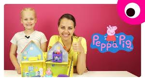 <b>Игровой</b> набор Peppa Играем в Загородный дом <b>Свинки Пеппы</b> ...