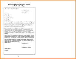 12 Example Complaint Letter Block Style Formal Buisness Letter