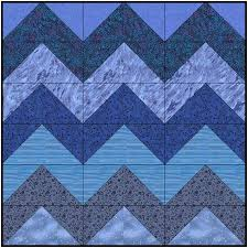 Nautical Tumble Sampler Quilt - Block Twelve - The Swells - Lyn ... & So set sail today for this wavy block. I've shown it here in blues as a CGB  (Computer Generated Block) though I stitched mine in Taupes. Adamdwight.com