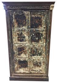 mediterranean furniture style. consigned antique rustic cabinet teak doors distressed furniture spanishstyle mediterraneanaccentchests mediterranean style