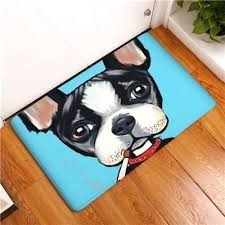 dog floor mats colorful painting non slip mat diffe dogs 2 sizes best dog floor mats