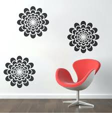flower wall decals flower wall decal 3d flower vase wall decals