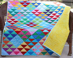 """Throw quilt 