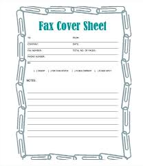 Free Fax Cover Sheet Template Word Create A Fax Cover Page Bighaus Co
