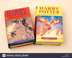 harry potter and the order of the phoenix and the goblet of fire hardback book