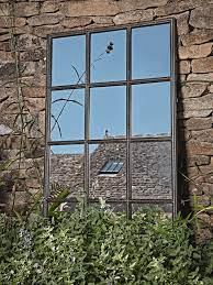 industrial outdoor window mirror
