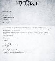 accomplishments and skills nicolle kovacs dean s list letter