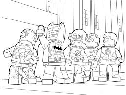 Small Picture Lego Batman Superheroes Coloring Pages Coloring Pages