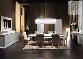 one of the loveliest dining settings from fendi casa including buffet and chandelier