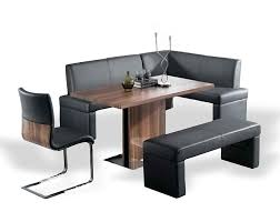 corner dining set with leather bench. modern corner nook dining set with leather bench