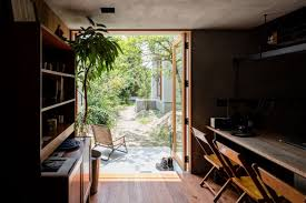 office in the garden. A Photographer\u0027s House And Studio Blended Into One : Photographers With An Office That Opens In The Garden