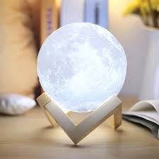 touch control lamp printing moon charging night light led brightness two ls7232 dimmer ic