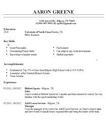Quick Learner Example Resume Cv Cover Letter In Resume Quick