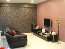 Modern Living Room Wall Decor Living Room Two Color Ideas With Recessed Lighting And Tv Wall