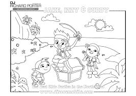 Coloriage Jack Et Les Pirates En Lignel