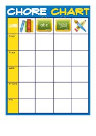 Weekly Homework Chart Kozen Jasonkellyphoto Co