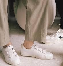 plain leather low top sneakers esplar 2018 ss