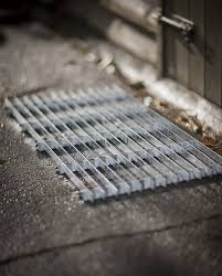 Metal Grill Galvanised Steel Doormat Outdoor Garden Entrance Front ...