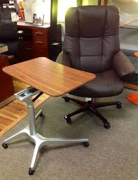 office furniture on wheels. workpadwalnut height adjustable u0026 on castors available in many finishes at scanhome green bayoffice furniturebroadwaywheels office furniture wheels