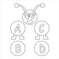 These will keep the kids busy for a while and get them practicing their leters of the alphabet! 9 Alphabet Coloring Pages Free Psd Jpg Png Jif Format Download Free Premium Templates