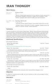 Produce Clerk Resume Samples Visualcv Resume Samples Database