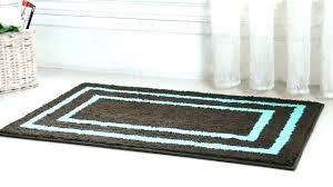 blue green bathroom rugs bath rug microfiber shower accent mint furniture