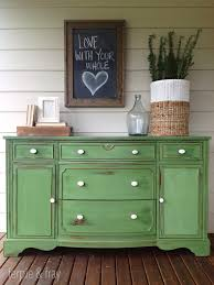 furniture chalk paintPainted Furniture by Color  GREEN Painted Furniture  Chalk paint