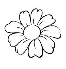 Small Picture Daisy Flower Daisy Flower Outline Coloring Page Flower