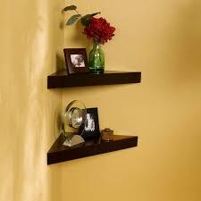 How To Hang Corner Shelves Gorgeous Corner Shelves For Wall House Designer Today