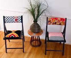 renovate furniture. DIY Colorfully Upholstered Chairs (via Www.homedit.com) Renovate Furniture