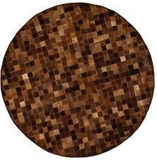 round cowhide rugs handmade small rug 5 diameter save the planet furniture australia round cowhide rugs