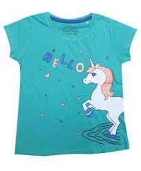 Girls T Shirt <b>hello unicorn</b>