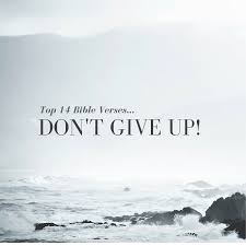 Top 40 Bible VersesDon't Give Up Everyday Servant Interesting Bible Verses About Determination